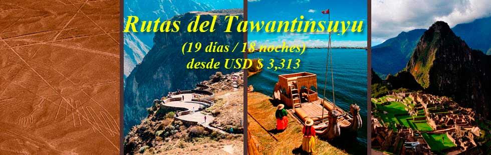 Rutas del Tawantinsuyo