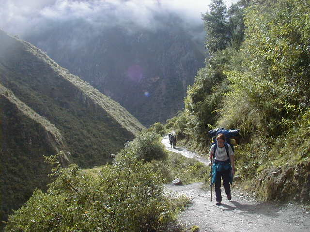 Camino Inca to Machu picchu, Energetic 3 days