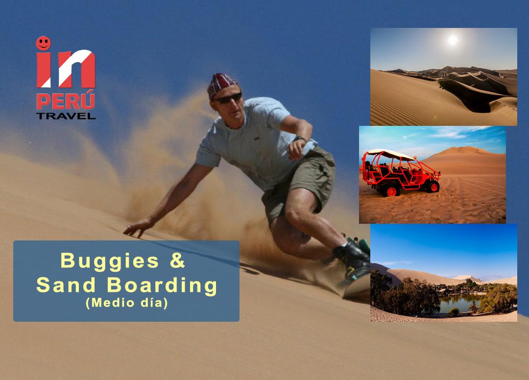 Buggies y Sand Boarding - Huacachina - Ica, Peru