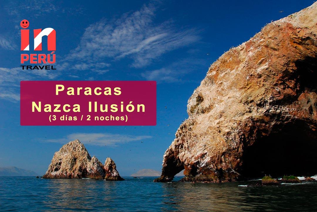 Paracas / Nazca Ilusión - Islas Ballestas