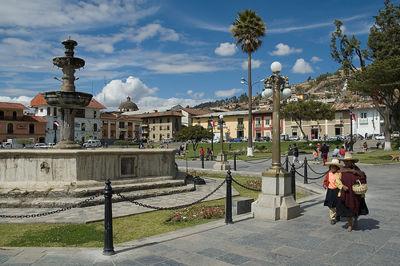 cajamarca maravillosa Plaza de armas