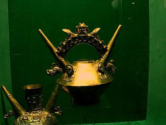Museo de oro Lima Peru