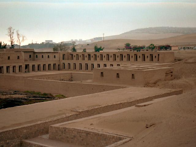 Pachacamac Archeological site Lima