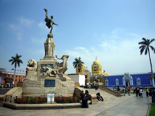 Trujillo main square.