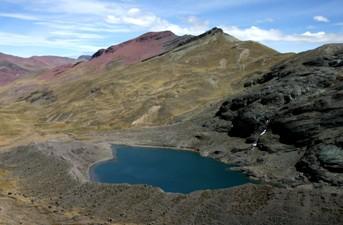 Cuatro lagunas importante atractivo turistico del cusco