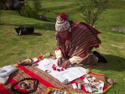 Cusco mistico, ceromonia de pago a la tierra
