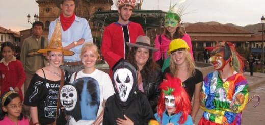 Halloween in Cusco Peru
