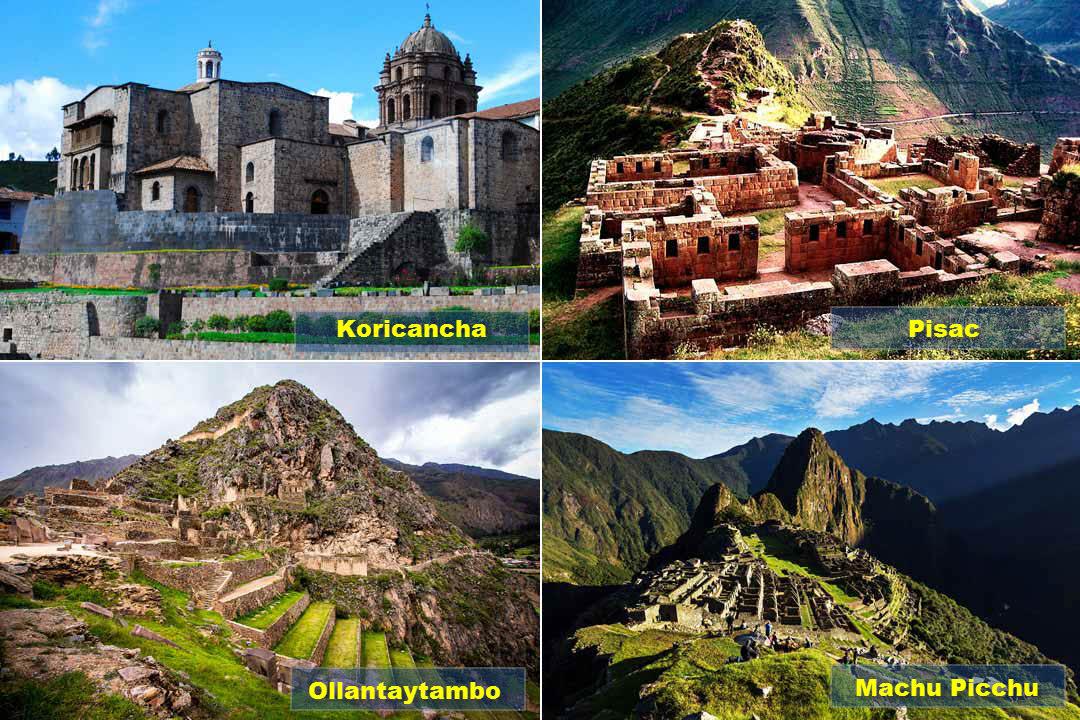 Koricancha - Pisac - Ollantaytambo - Machu Picchu