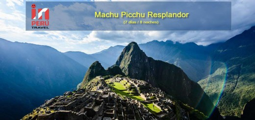 Machu Picchu Resplandor