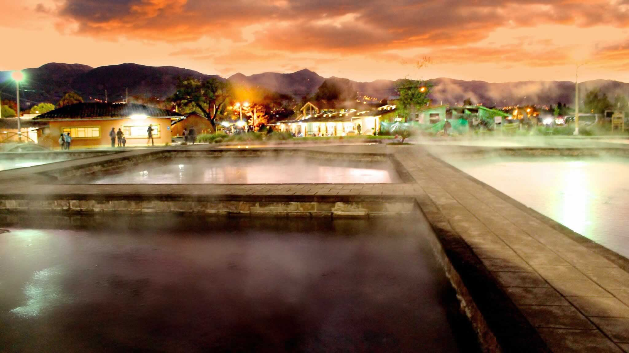 Baths of the Inca, Cajamarca, Peru