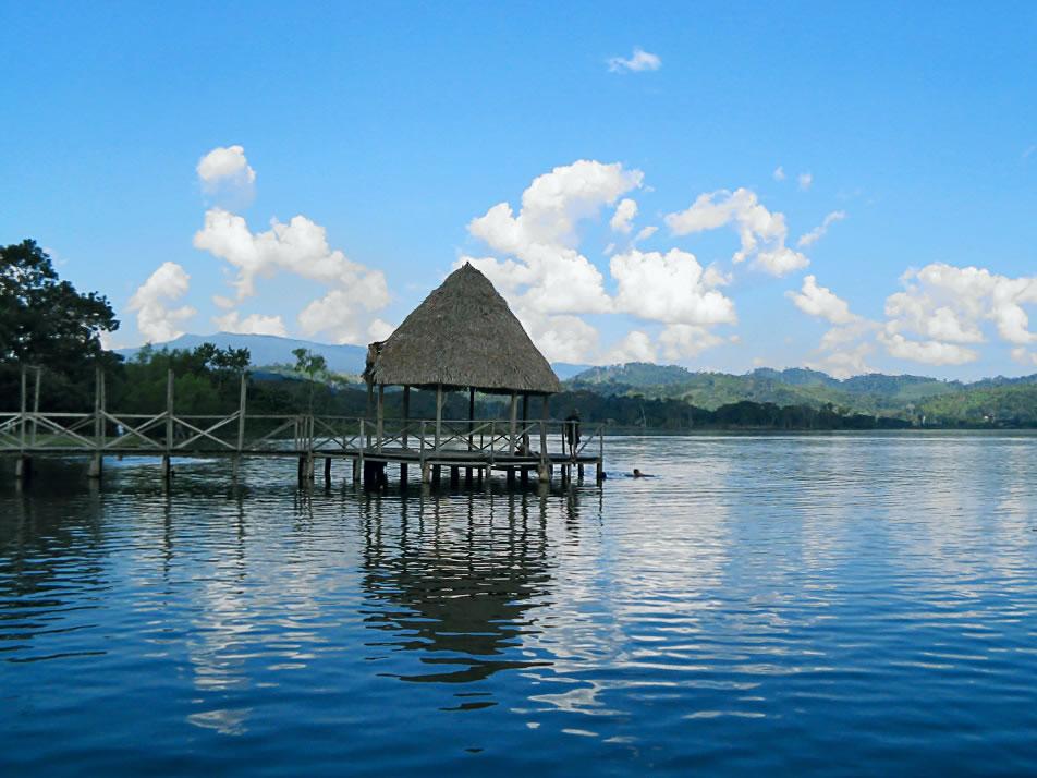 Blue lagoon, Tarapoto, San Martin, Peru