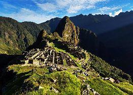 Machu Picchu Presuroso en Carro