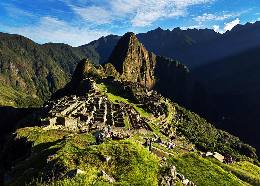 Early light on Machu Picchu