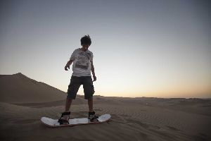 Trans Ica Sand Boarding