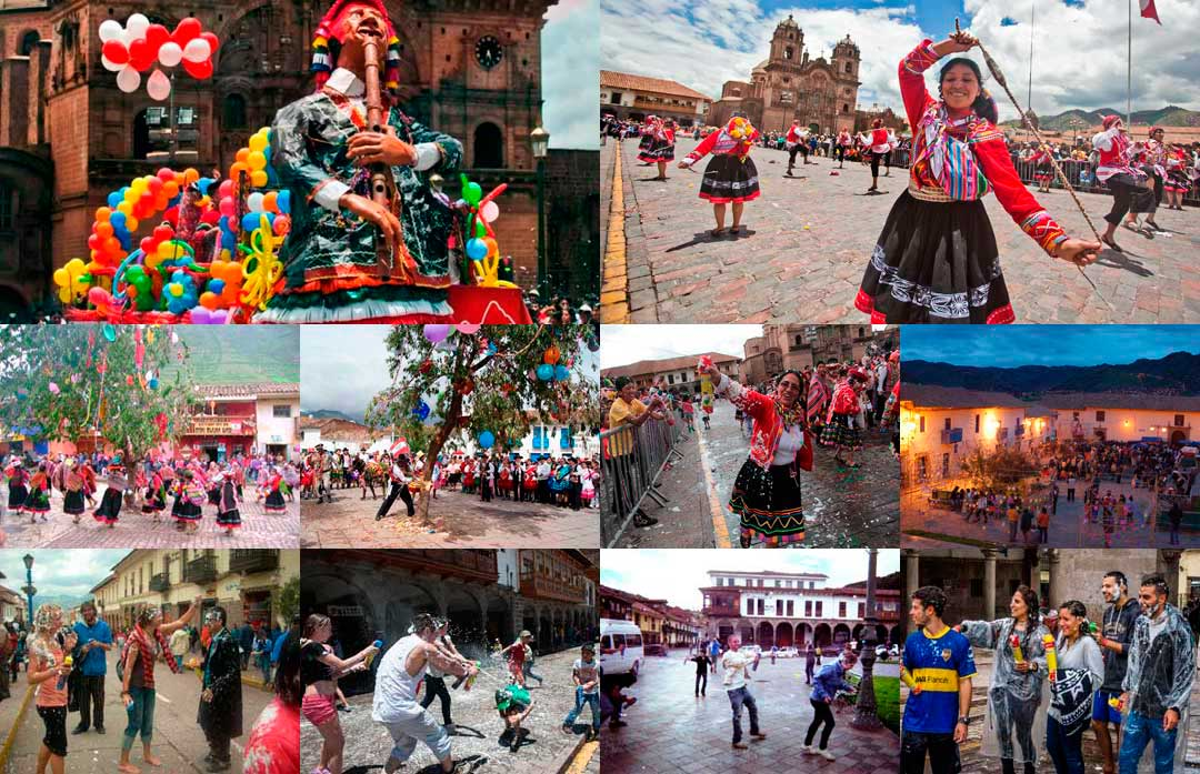 Carnivals in Cusco, Peru