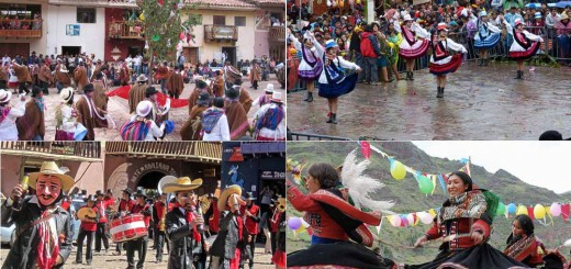 Carnavales en Pisac, Valle Sagrado, Cusco