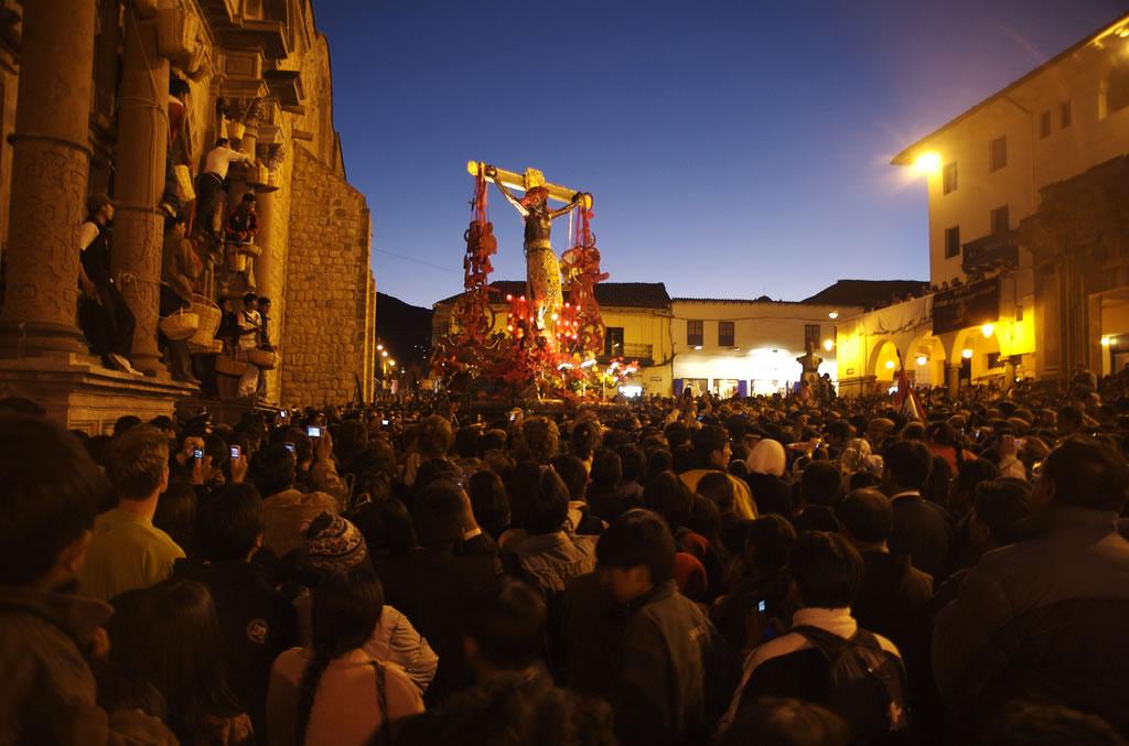 Semana Santa en Cusco - Procesión del Señor de los Temblores