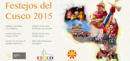 Cusco Festivities 2015