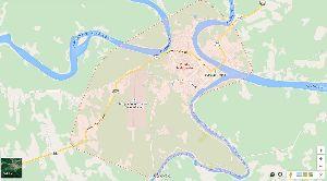 Mapa de Puerto Maldonado