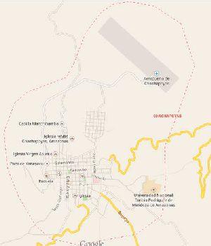 Mapa de Chachapoyas