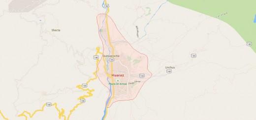 Map of Puerto Maldonado