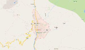 Mapa de Huaraz
