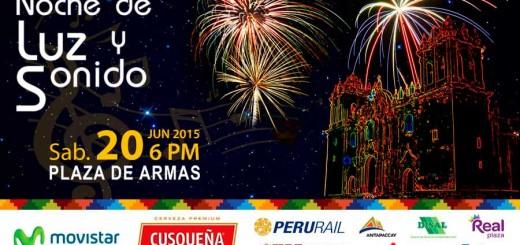 Noche de luz y sonido, Festejos del Cusco 2015