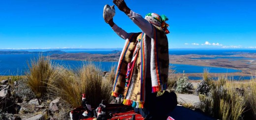 Offering to the Pachamama