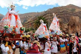 Festividad de la Virgen Asunta de Calca