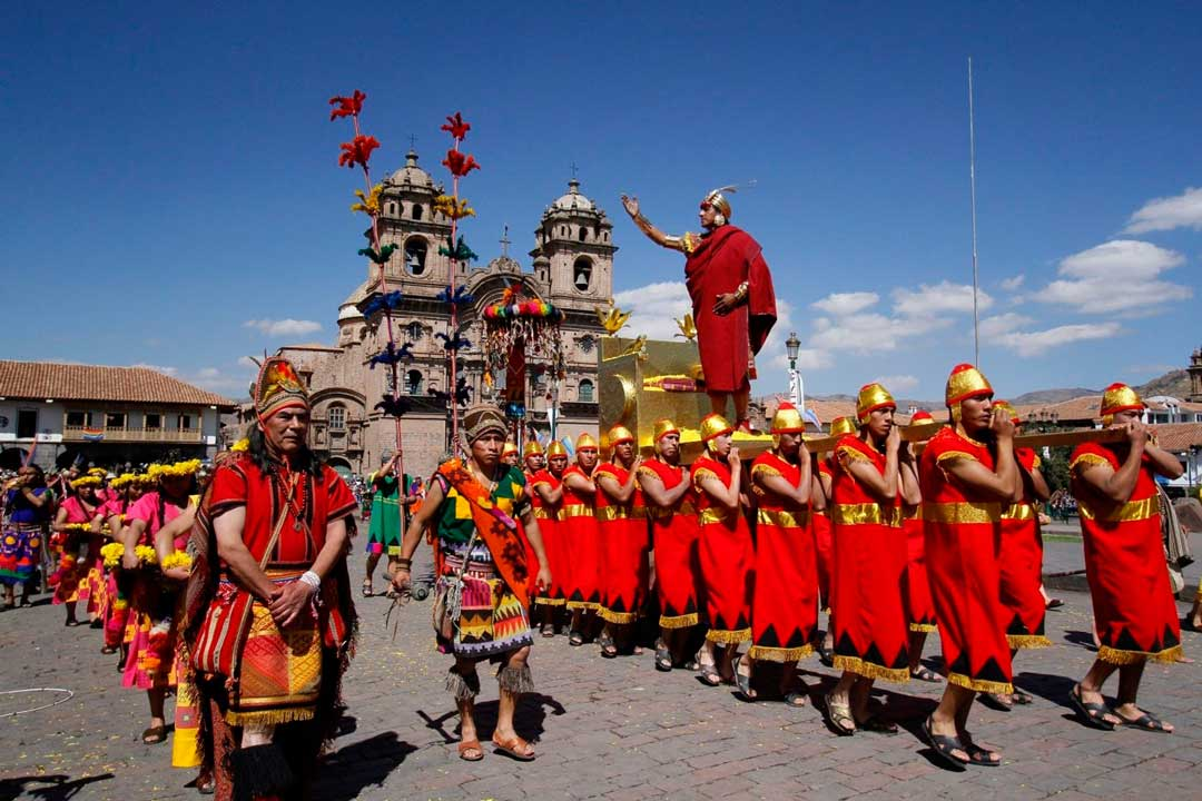 Inti Raymi - Plaza de armas