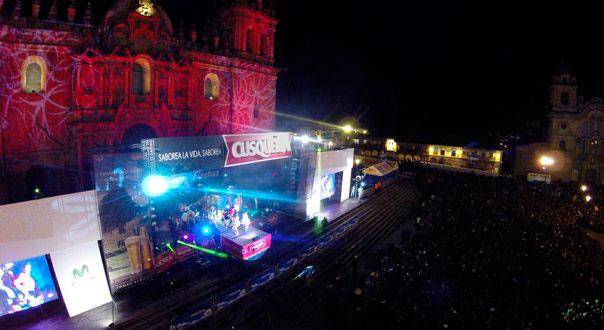 Noche de Luz y Sonido - Fiestas del Cusco