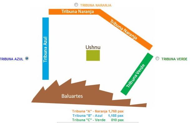 Tribunas - Inti Raymi
