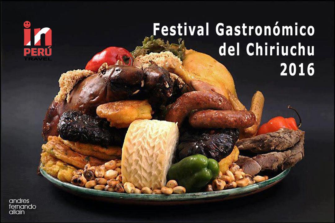 Tradicional Festival Gastronómico del Chiriuchu 2016