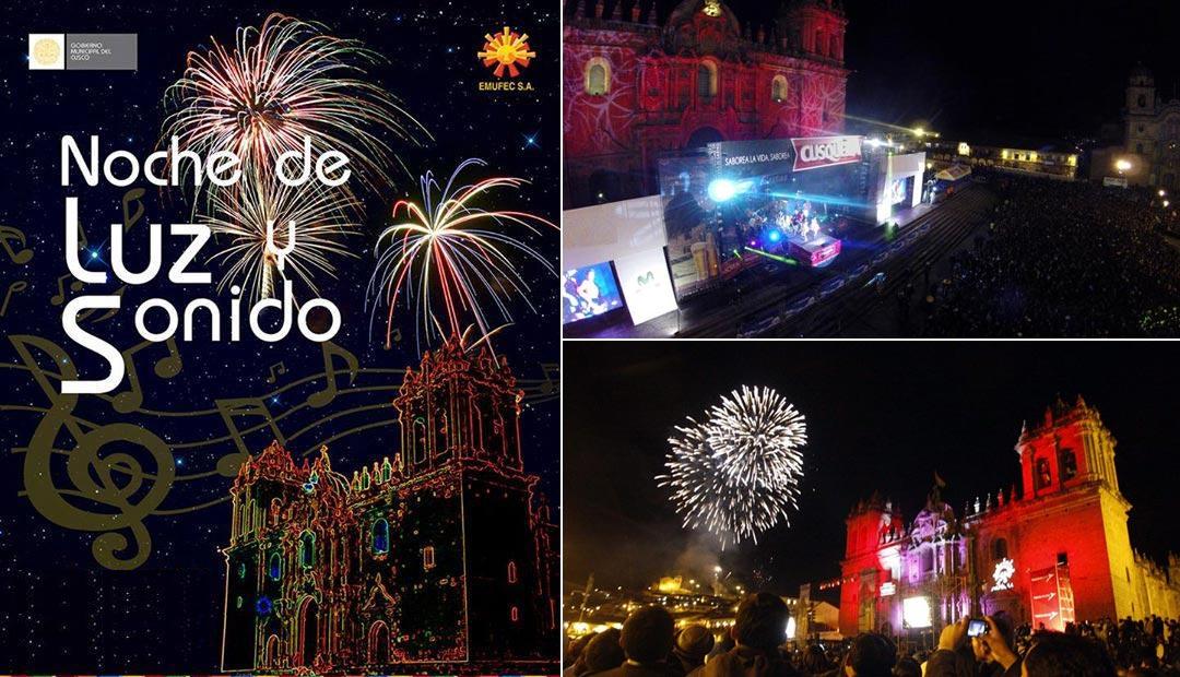 Noche de Luz y Sonido Cusco 2016