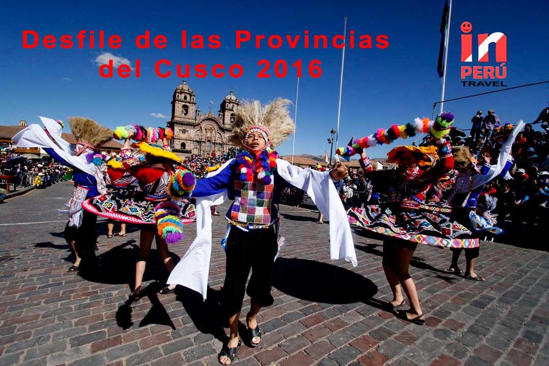 Desfile de las Provincias del Cusco 2016