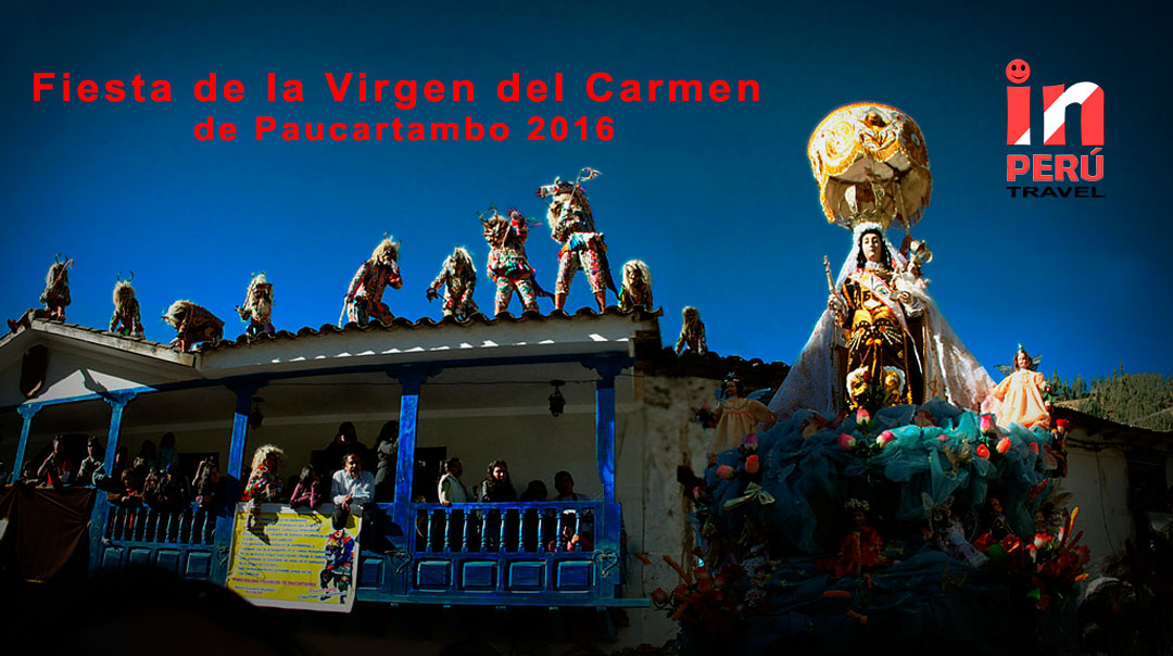 Fiesta de la Virgen del Carmen de Paucartambo 2016