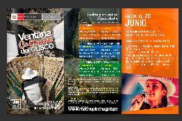 Ventana cultural del Cusco Junio 2016